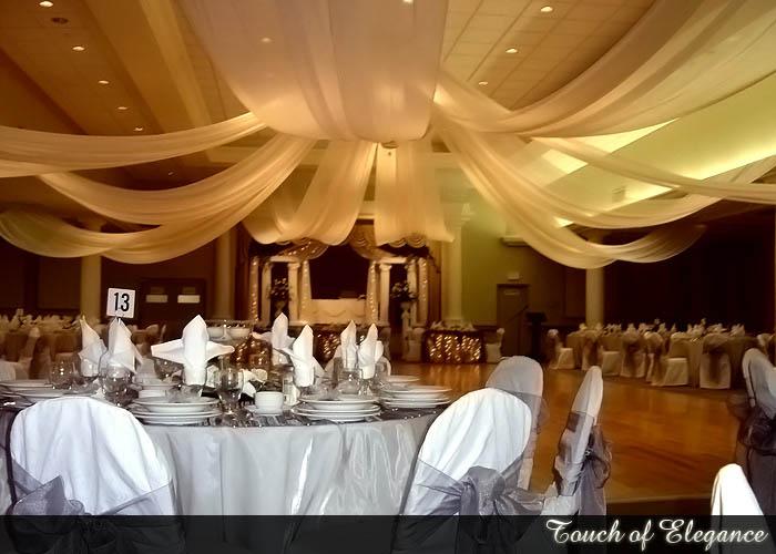Ceiling Canopies Wedding Decoration Reception Halls Decorate